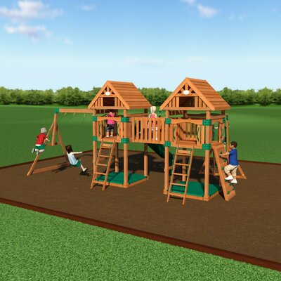 Kings Peak All Cedar Swing Set