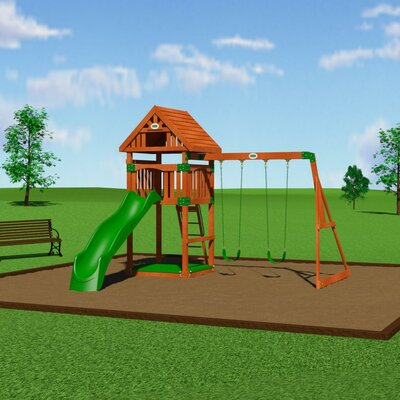 Trek Cedar All Cedar Swing Set