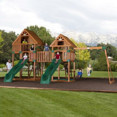 Vista Cedar All Cedar Swing Set