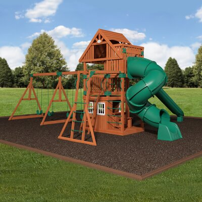 Traverse Cedar All Cedar Swing Set
