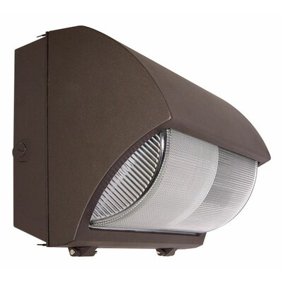Deco Lighting 175W Large Curved Semi Cut-Off Wall Light in Bronze at Sears.com