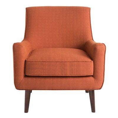 Bridgeton Armchair Upholstery: Orange