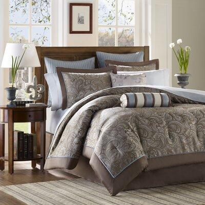 Madison Park Aubrey Jacquard Comforter Set | Wayfair