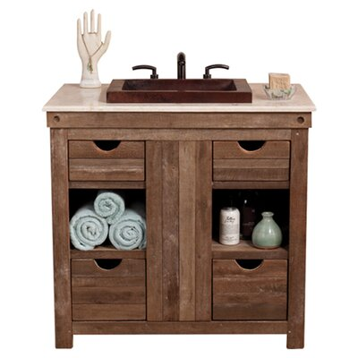 Vintner 36 Single Bathroom Vanity Base