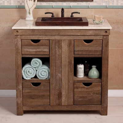 Vintner 36 Single Chardonnay Vanity Base