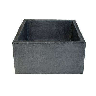 Ventana 15 x 15 Farmhouse Kitchen Sink Finish: Slate