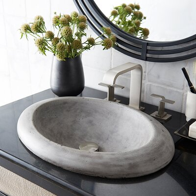 Cuyama Stone Self Rimming Bathroom Sink