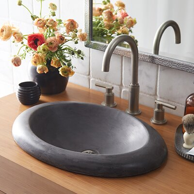 Cuyama Stone Self Rimming Bathroom Sink