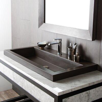 Trough Stone 36 TroughBathroom Sink