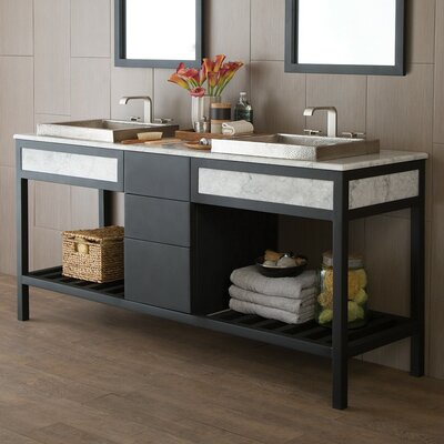 "Cuzco 72"" Double Bathroom Vanity Base VNR726"