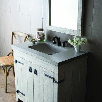 Palomar 37 Single Bathroom Vanity Top Top Finish: Ash