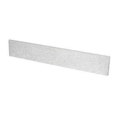 Crema Backsplash Size: 24 x 4 x 0.75