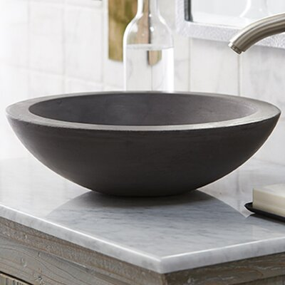 Morro Stone Circular Vessel Bathroom Sink