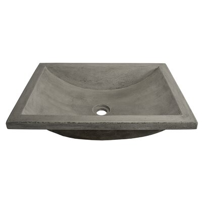 Cabrillo Rectangular Undermount Bathroom Sink