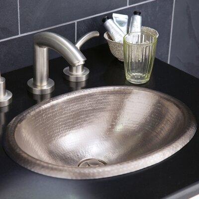 Baby Classic Metal Oval Drop-In Bathroom Sink
