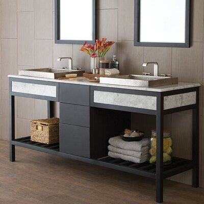 Cuzco 73 Carrara Vanity Set