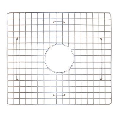 17 x 15 Bottom Grid Finish: Stainless Steel