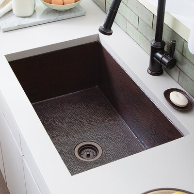 Cocina 30 x 18.5 Kitchen Sink Finish: Antique Copper