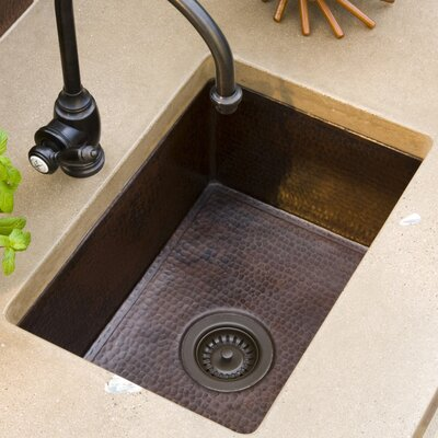 Cocina 21.5 x 16 Copper Kitchen Sink Finish: Antique Copper