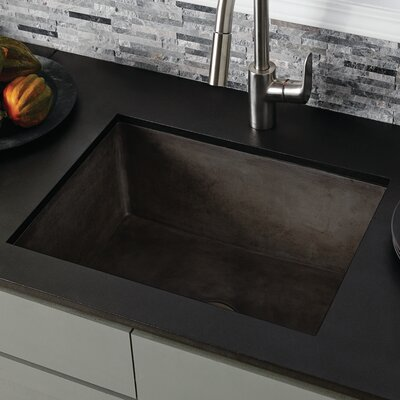Farmhouse 24 x 18 Kitchen Sink Finish: Slate