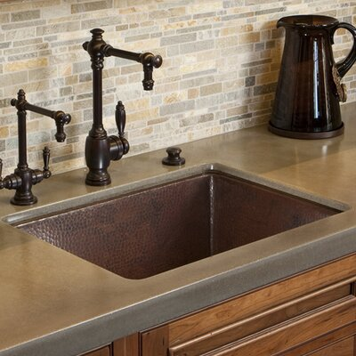 Cocina 24 x 18 Copper Kitchen Sink Finish: Antique Copper