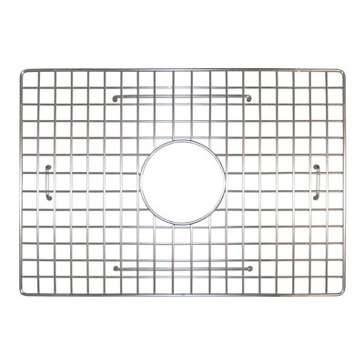 19 x 13 Bottom Grid Finish: Stainless Steel