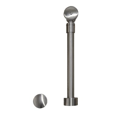 1.5 Pop-Up Tub Drain With Overflow Finish: Polished Nickel