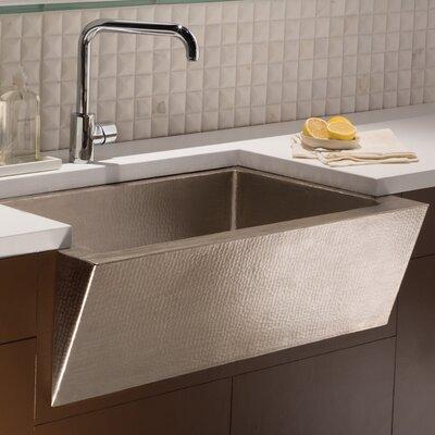 Zuma 33 x 22 Farmhouse Kitchen Sink Finish: Brushed Nickel