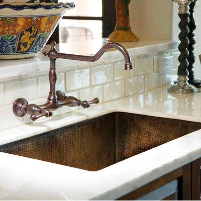 Cocina 33 x 21 Undermount Kitchen Sink Finish: Antique Copper
