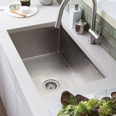 Cocina 33 x 21 Undermount Kitchen Sink Finish: Brushed Nickel