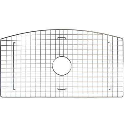 27 x 16 Bottom Grid Finish: Stainless Steel
