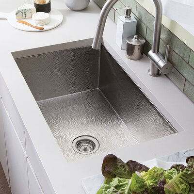 Cocina 30 x 19 Undermount Kitchen Sink Finish: Brushed Nickel