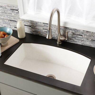 33 x 21 Farmhouse Kitchen Sink Finish: Pearl