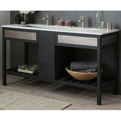 "Cuzco 60"" Double Bathroom Vanity Base VNR605"