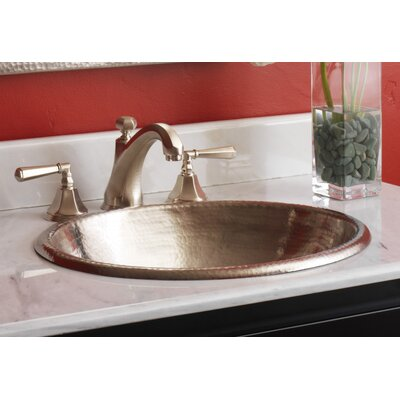 Rolled Classic Self Rimming Bathroom Sink