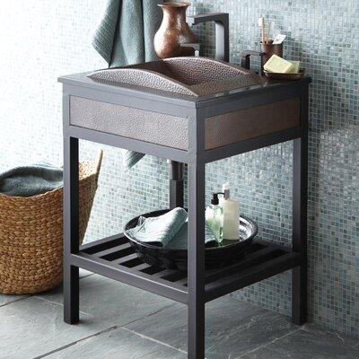 Cuzco 24 Single Bathroom Vanity Base Base Finish: Brushed Nickel