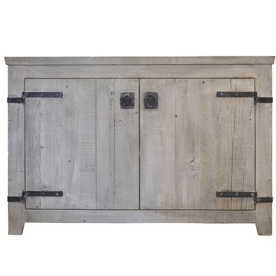 Americana 48 Single Bathroom Vanity Base Base Finish: Driftwood