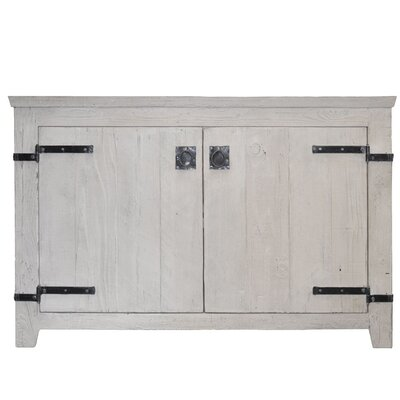 Americana 48 Single Bathroom Vanity Base Base Finish: Whitewash