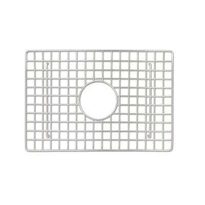 Sink 11.5 x 17 Bottom Sink Grid Finish: Stainless Steel