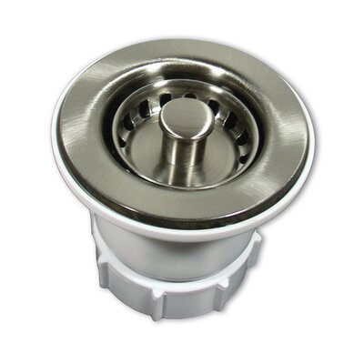 2 Jr. Strainer Finish: Polished Nickel