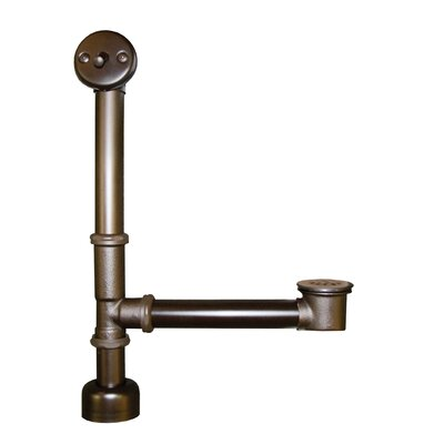 "NATIVE TRAILS 6"" Trip Lever Bath Waste and Overflow Leg Aurora Tub Drain - Finish: Oil Rubbed Bronze at Sears.com"