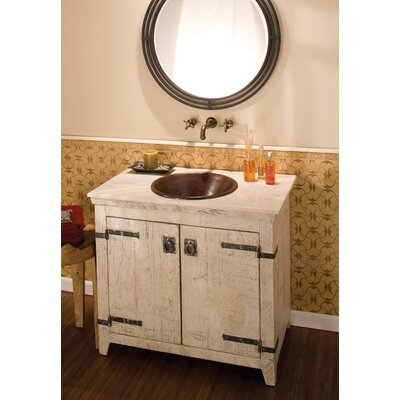 Cazo Metal Circular Undermount Bathroom Sink