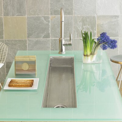 50 x 11 Drop-In Bar Sink Finish: Brushed Nickel