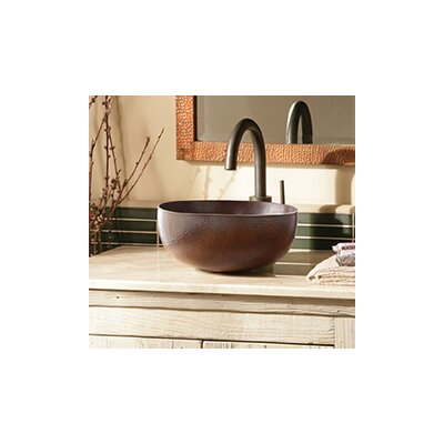 Maestro Metal Circular Vessel Bathroom Sink