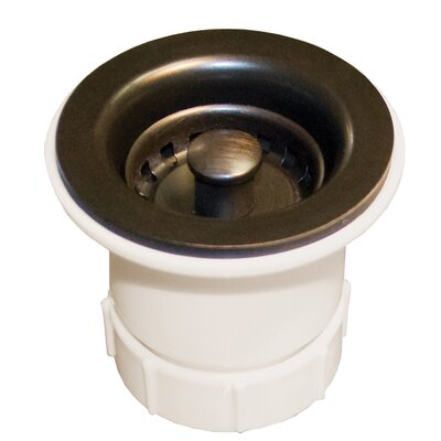 2 Lift and turn Kitchen Sink Drain Finish: Oil Rubbed Bronze