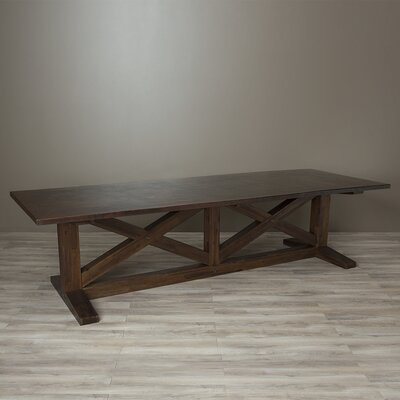 Mette 120 Dining Table Color: Antique Copper