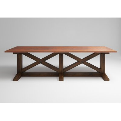 Mette 120 Dining Table Color: Tempered Copper