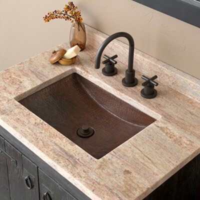 Avila Rectangular Undermount Bathroom Sink