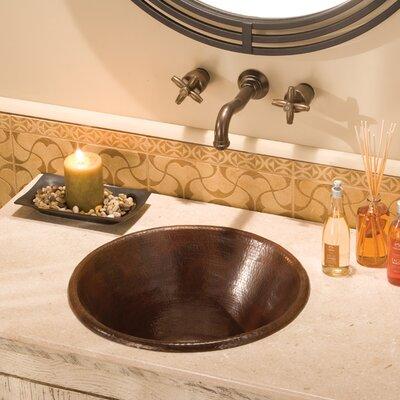 Cazo Circular Undermount Bathroom Sink