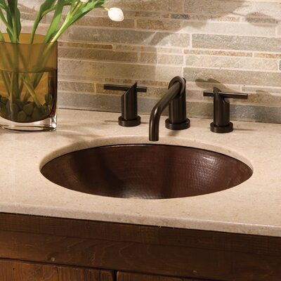 Classic Oval Undermount Bathroom Sink
